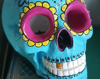 Hand-Painted Sugar Skull