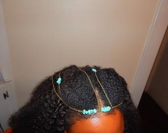 Bohemian head chain headband