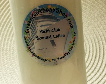 Yacht Club Scented Lotion