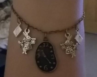 Wonderland inspired bracelet