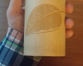 Liquid Proust Teas, Bamboo Tea Container