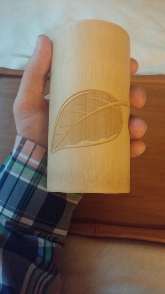 Liquid Proust Teas, Bamboo Tea Container