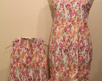 Matching Mother and Daughter Dress - Floral