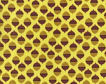 Michael Miller Norwegian Woods Acornucopia Forest - FBTY - FBHY - Acorn Fabric