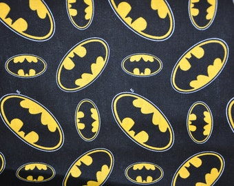 1/2 Yard of Batman Fabric - Comics - 100% Cotton Quilt Fabric by Camelot Fabrics