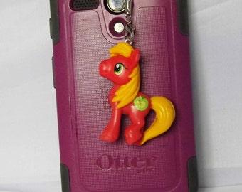 My Little Pony cell phone dust plugs Big Macintosh, Fluttershy, Electric Sky, Sweetcrean Scoops cosplay brony unicorn pegasus pony