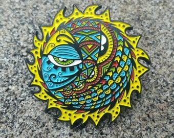 Dark Side Of The Sun - soft enamel hat pin