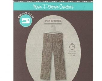 P4 - FROU FROU - Sewing pattern - Pants.