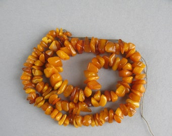 Antique Natural Amber Beads,  Amber Beads, Baltic Amber