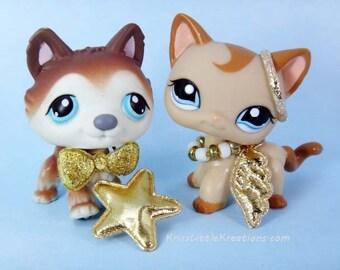 Custom #69 Angel Wing Set Outfit Accessories Littlest Pet Shop LPS