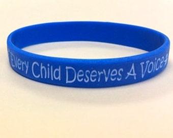 Apraxia Awareness Wristbands, Children's bracelet, adult bracelet
