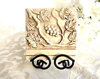 Shabby Chic Decorative Tile, Shabby Chic Decor, Vintage Decor, Retro Decor, Home Decor