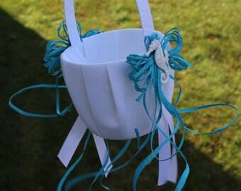 Flower Girl Basket / Seahorse Flower Girl Basket