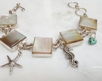 ON SALE - Mother of Pearl Bracelet