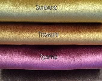 Avalon Custom Velvet Designer Drapery Panels. Available in 31 beautiful colors! Pinch Pleat Velvet Drapery. French Pleat Velvet Drapery.