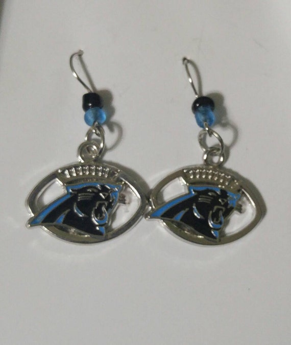 carolina panther jewelry carolina panthers earings panthers earring by smileys2727 1801