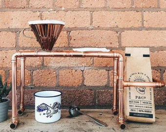 Edition 1: Handmade Copper Pour-Over/Drip Coffee Stand