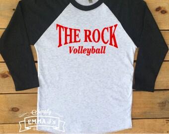 Custom made shirt, school name, sport, volleyball, running, baseball shirt, soccer