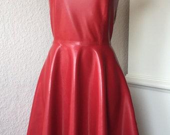 LaTeX dress classic size S M L