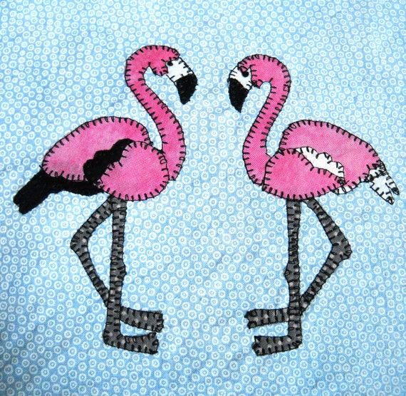 Flamingo Pdf Applique Pattern African Animal By Mspdesignsusa