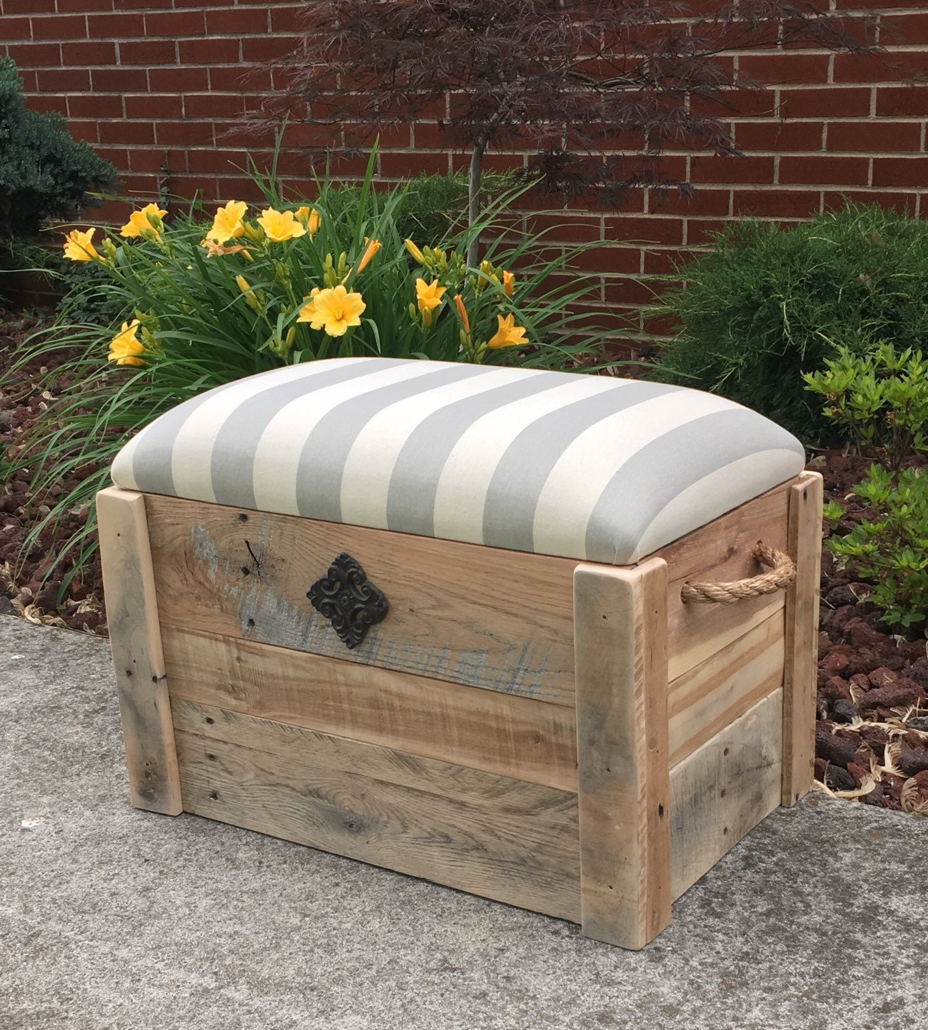 Storage Bench Shoe Rack Entryway Organizer Container Store: Storage Bench Shoe Bench Entryway Bench Toy Box Hope