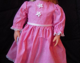 Pink Dress for 18 inch Doll