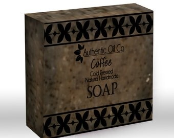 Coffee Traditional cold press handmade soap 80g