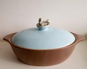 Vintage 50s Langley casserole dish