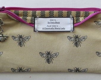 Persette #85 Personalized Zippered Organizing Pouch