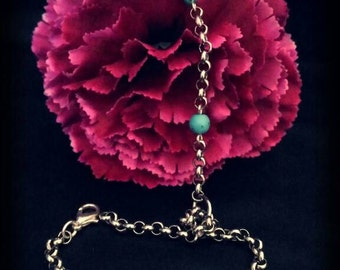 Ring bracelet with Turquoise