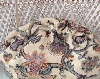 Tapestry Shoulder Bag/ Clutch
