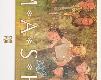 M*A*S*H 1972 American Television Series Classic Painting Poster