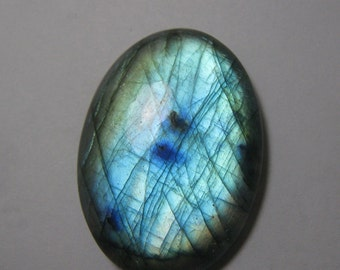 Natural labradorite cabochon Oval shape loose semi precious gemstone cabochon size 29 x 40 mm approx code 2183 Wholesale Gemstone