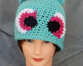 Sale! 15 dollars My Little Pony: Rainbow Dash Inspried Crochet Adult Hat (ask for other sizes)