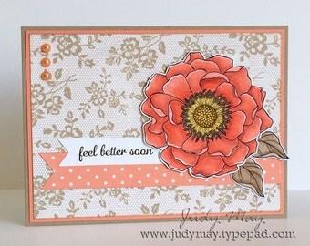 Handmade 'Get Well' Card