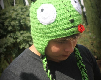 Invader Zim Gir Hat// Crochet Gir Hat