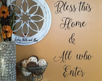 Entryway Wall Decal Etsy - Wall decals entryway
