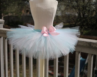 Pick your colors!!! Basic tutu, Baby tutu, bow flower tutu, baby shower gift, photo props. Pick any colors!!! As many colors as you like!!!