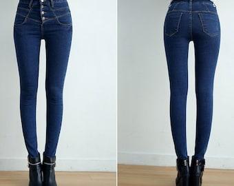 skinny jeans, high waisted jeans, skinny denim, denim leggings