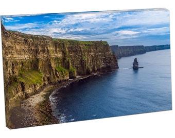 FO2366 Print On Canvas Cliffs of Moher IRELAND Landscape Art