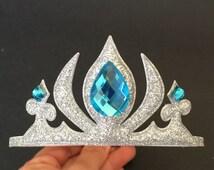 Elsa Crown,Frozen Headband,Frozen Elsa Headband,disney princess crown,Princess headband,Princess Crown,disney crown,anna crown,elsa,crown