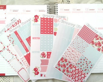 Be My Valentine Weekly Kit for the Vertical Erin Condren Life Planner