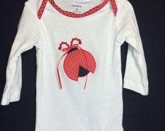 Ladybug bodysuit / onesie