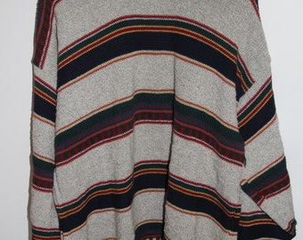 Vintage Liberty Heavy Striped Sweater