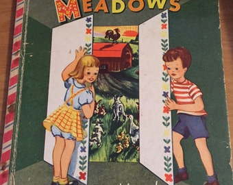 Near the Friendly Meadows DARLING 1950 Book