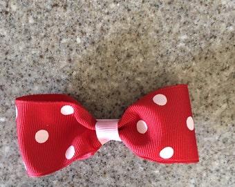 Bow Tie Hair Bow