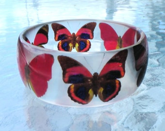 BANGLE, Bracelet Butterflies Size M NEW
