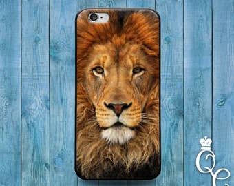iPhone 4 4s 5 5s 5c SE 6 6s plus iPod Touch 4th 5th 6th Gen Cute Lion Face Cat African Africa Phone Cover Beautiful Animal Custom Cool Case