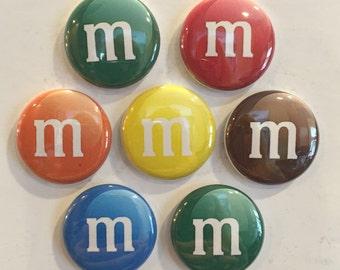 M&M's Magnets - set of 7