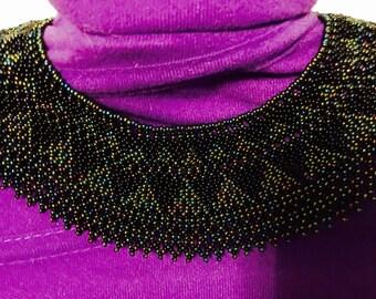 Egyptian Handmade  Beaded Collar